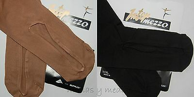 Intermezzo *boot Shaped* Over The Boot Ice Skate Roller Skating Tights All Sizes