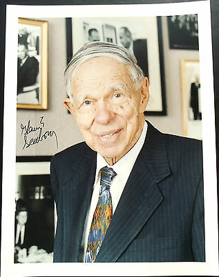 Glenn T. Seaborg American Scientist Signed Photograph Nobel Prize Chemistry 1951