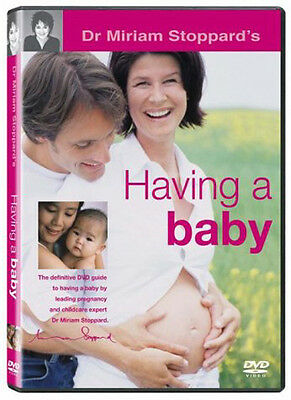 Dr. Miriam Stoppard's HAVING A BABY DVD - New & Sealed (Daily Mirror Agony Aunt)