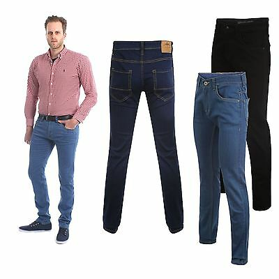 K-2 Mens New Slim Fit Stretch Denim Jeans Boys Stretchy Trousers Kollache