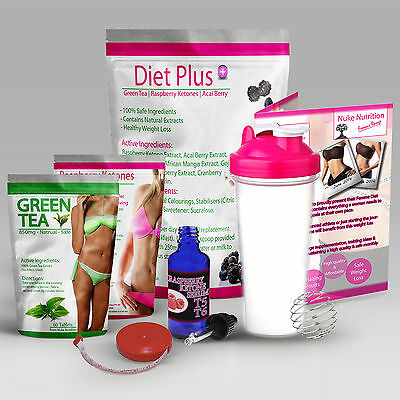Fast Weight Loss Juice Slimming Pack - Fat Burners - Slim Diet Powder Plus