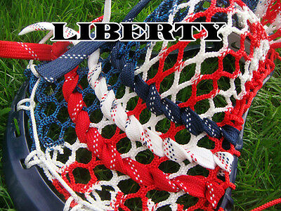 Lacrosse Money Mesh Liberty resembles US Flag red white and blue