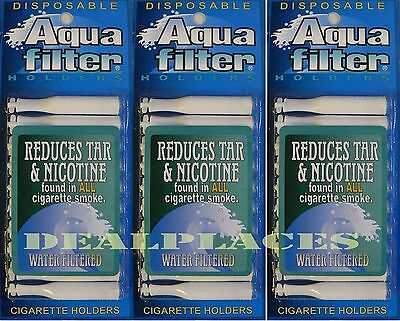 Aquafilter® Disposable Cigarette Filters - 30 holders - Aqua Filter SHIPS FREE