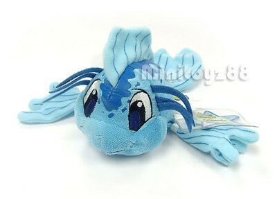 Neopets Series 5 Blue Koi Fish Keyquest Unused Code Plush Toy