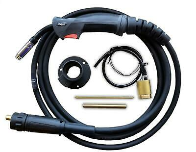MB15 4 Metre Euro Mig Welding Torch Lance & Conversion Kit for MIG welder