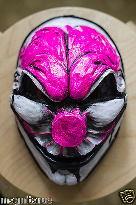 Inspired CLEAR Old Hoxton reborn  Payday-2 Payday the heist mask game