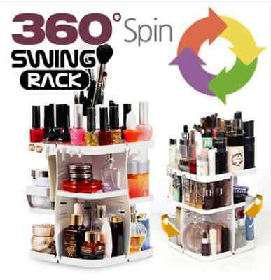 [PRINCESS] 360 Dgree ROTATING COSMETICS ORGANIZER MAKE UP SPINNING RACK