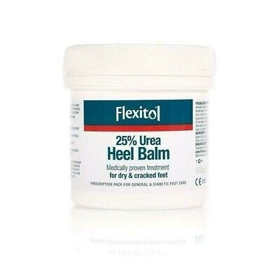 Flexitol Heel Balm 500g | Dry & Cracked Heels | Re-Sealable Lid ( No Waste )
