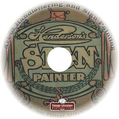 Art of Handlettering and Sign Painting { 23 Vintage How-To Guides } on DVD