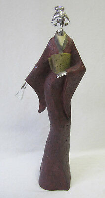 Geisha Figurine Japanese Lady Ornament 40cm Reduced To Clear 50% Off Style 12