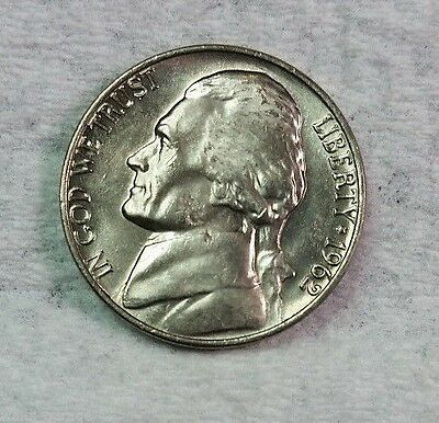 1962 P Jefferson Nickel, BU, Nice, Uncirculated, Fresh From Bank Rolls....