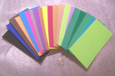 "20 COLOR 3""x6"" 2mm CRAFT FOAM SHEETS Fly Tying Material FOAM CRAFT ART SUPPLIES"