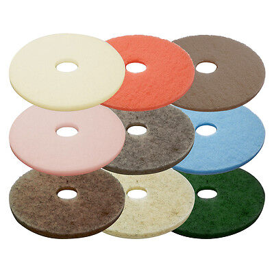 Floor Buffer Pads (5 Per Box) (Various Colours & Sizes) - Burnishing & Buffing