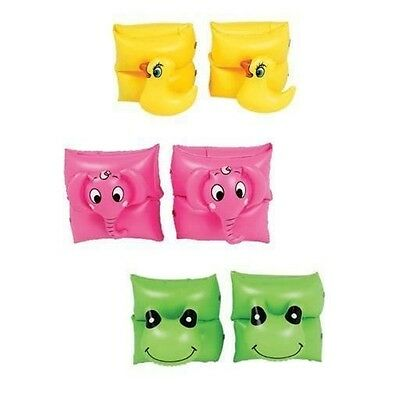Kids Children Inflatable Swimming Arm Band Armbands Funny Animal Float Safety