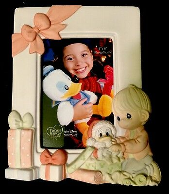 NICE - Authentic Precious Moments - Disney 717001 Photo Frame-2006 4x6 Porcelain