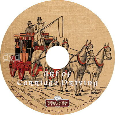 Driving Horse Drawn Coaches { Art of Carriage and Coach Driving } on DVD
