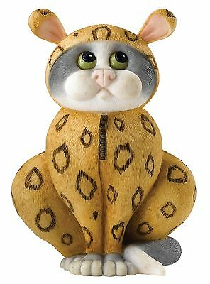Linda Smith Comic Curious Cat Onesie Figurine Ornament 7cm A27187