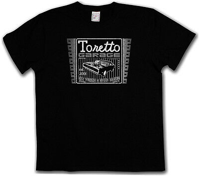 TORETTO GARAGE T-SHIRT - Movie Vin Tuning Diesel 2 The Fast And Furious T-Shirt