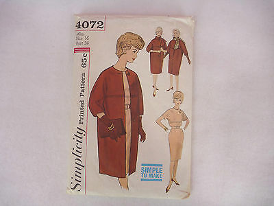 Vintage Sewing Patterns One Lot of 10 Patterns 1950s and 1960s Sizes 12 to 18/20