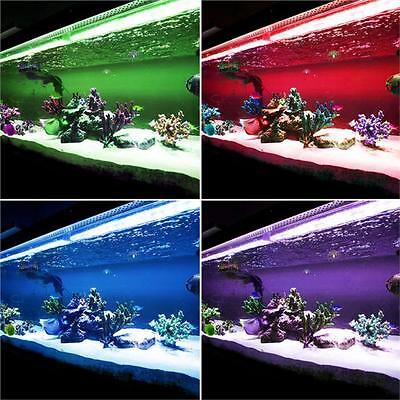 Rgb Led 50Cm 100Cm Strip Aquarium Set Fish Tank Lighting Fully Submersible