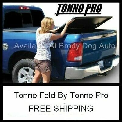 TRI-FOLD Tonneau Bed Cover For 2005-15 Nissan Frontier SB 5Ft Tonno Pro 42-402
