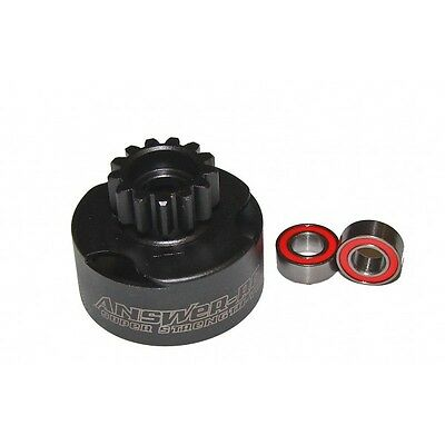 ANSCBV013 Answer-RC 13t Vented Clutch Bell With 2 x 5*10 Bearings
