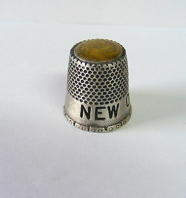 """Vtg. Collectible """"Estate Find"""" THIMBLE---NEW ORLEANS--  Take @ LOOK!"""
