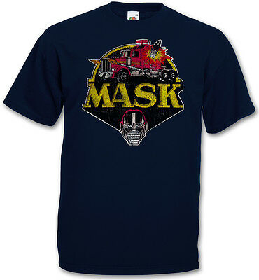 VINTAGE MASK LOGO TV T-SHIRT -  80s Cartoon Comic Serie Kult Venom MASK T-Shirt