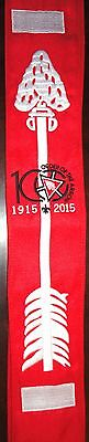 Order of the Arrow 100th Anniversary Centennial Brotherhood OA Sash - 2015 NOAC