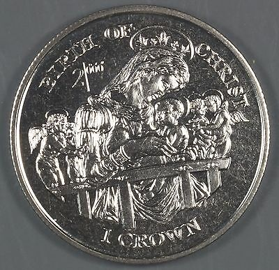"""Isle of Man 1997 """"Birth of Christ"""" 1 Crown Coin"""