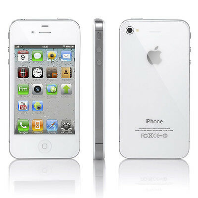 New White Apple iPhone 4s 16GB Factory Unlocked  Smarthphone 3G Mobile  A1387