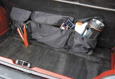 Car Boot Organiser Autocare Universal Secure Fitting Interior Storage Tidy Black