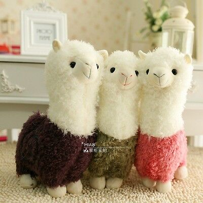 "New 18"" Llama Alpaca Arpakasso Alpacasso Plush Doll Toy Girl Birthday Gift 1PCS"
