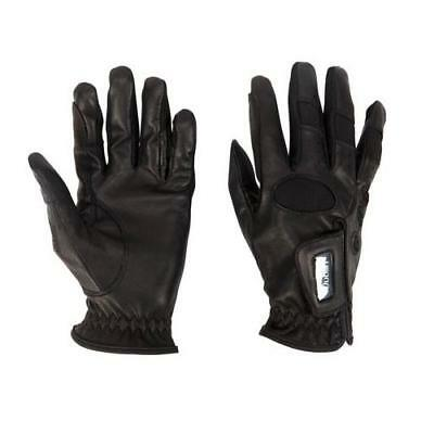 Dublin Show Jumping Horse Riding Gloves Leather Combination ALL SIZES