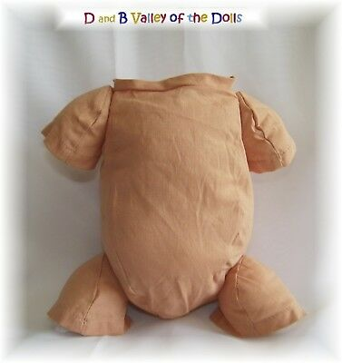 Reborn Dolls Jointed  Cloth Body Slip for 12 inch doll