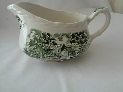 Grindley Transferware Country Style Gravy Boat