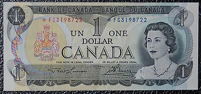 BANK OF CANADA - 1973 $1 Replacement Note Asterix *FG Signed Lawson & Bouey-NCC