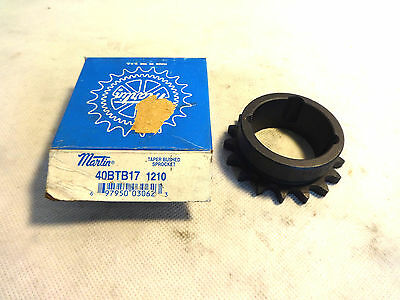 New In Box Martin 40Btb17 1210 Sprocket
