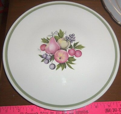 Lovely Decorative Fruit Plate -- Ridgway Potteries Ltd Evesham - Made in England