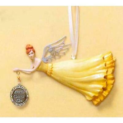 RUSS Friends Welcome Here Power Of Believing Inspirational Angel Ornament 31206
