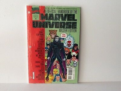 Official Handbook Of The Marvel Universe Master Edition #36 - Final Issue 1993 .