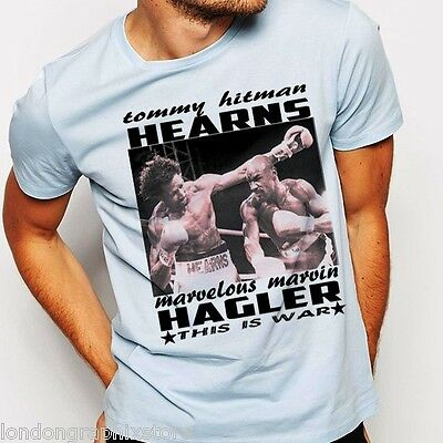 Fab Four Boxing WH T-Shirt Apparel New 4LUVofBOXING Duran SRL Hearns Hagler