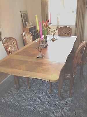 Lovely French Oak Dining Table 1900-1950
