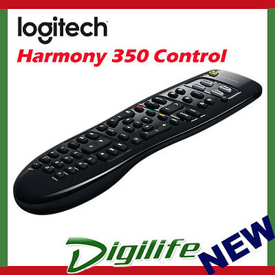 Logitech Harmony 350 Universal Remote Control For TV Satellite Box DVD Player