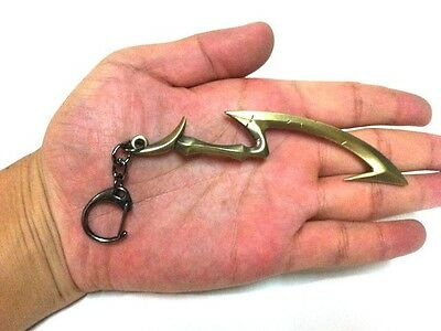 11CM League of Legends Diana SWORD Weapo Metal Keychain Ring Pendant gifts