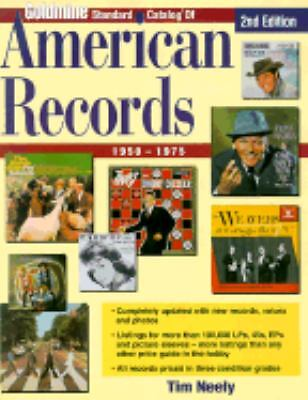 Goldmine Standard Catalog of American Records 1950-1975 by Tim Neely (2001,...