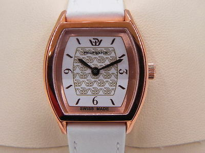 OROLOGIO PHILIP WATCH ENCELADE swiss made VINTAGE DONNA ACCIAIO ROSE GOLD