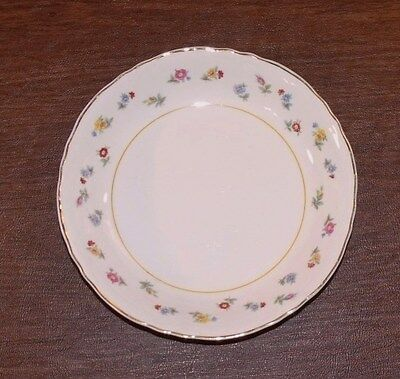 """W. S. George Radisson 9"""" ROUND VEGETABLE BOWL Multicolor Flowers Floral Pattern"""