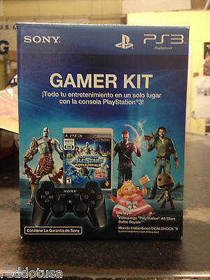 NEW OFFICIAL ORIGINAL Sony Black Dualshock Playstation 3 PS3 Wireless Controller
