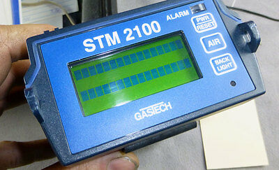 Gastech STM 2100 Gas Detector with Accessories & Travel Case Very Clean